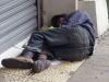 Daklozen, hij is een schoen kwijt