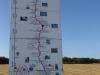We verlaten de provincie Rioja, laten de wijngaarden achter ons en lopen nu door de graanschuur van Noord Spanje