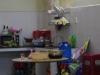 Naast het atelier de keuken
