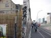 East Side Park, hier staat nog zo'n 200 meter muur