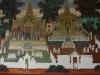 Schitterende muurschilderingen, die gerestaureerd worden