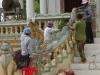 Er wordt hard gewerkt aan de restauratie van Wat Phnom EK