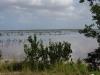 De dam naar Caya Coco