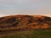 Zonsondergang in Versalir, rond middernacht