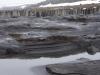 Drooggevallen rivierbedding