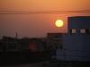 Terras Col Lamba Indian Home Stay, zonsondergang