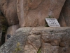 plaquette overleden klimmer