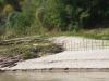 Bij hoog water moet de Mekong toch veel zand verplaatsen, waarschijnlijk een proces van miljoenen jaren