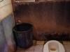 Het toilet van onze long-boat