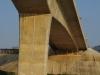 De Vriendschapsbrug tussen Laos en Thailand, nog 1½ uur varen