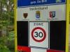 Hollandsche Rading, de grens ('rading') met Holland