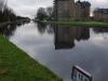 Rijn-Schiekanaal, met ontwikkeling van huizen en appartement gebouwen in dezelfde stijl