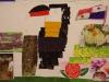 Kunst gemaakt door kinderen en volwassenen