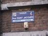 Rue Saint Jacques, Namen