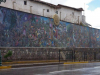 Muurschildering van Juan Bravo geeft de geschiedenis van Peru weer