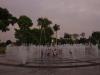 Circuito Mágico del Agua, Kinderen spelen tussen de fonteinen