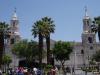 De kathedraal van Arequipa