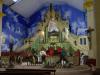 Iglesia de San Juan, ook hier is de mis in volle gang