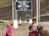 Abra la Raya, de 2e stop op 4335 m; 5 minuten om de eeuwige sneeuw vast te leggen