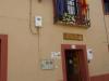 Albergue Municipal, voor € 5,-- p.p. scoren we een kamer met 6 bedden voor onszelf
