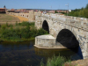 De prachtige Romeinse brug over de Rio de Órbigo