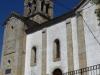 De kerk in het oude centrum van Sarria