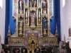 Wij gaan naar het Baskische koor, de mis slaan we over