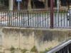 De brug bij de Rio Ebro, waar we vorig jaar geëindigd zijn