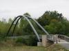 Annesse-et-Beaulieu, een schitterende nieuwe brug over de L' Isle