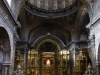 De kathedraal van Los Arcos, alles is van hout