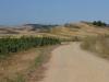 Alesanco la Rioja, stof en klimmen, met als troost mooie vergezichten en een strakblauwe hemel