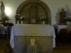Bij de Monte de Gozo krijgen we in het kleine kerkje een stempel