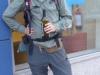 Een Australische peregrino viert zijn eigen feestje