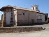 Viloria de Rioja; via de kerk verlaten we het uigestorven dorpje om opnieuw de graanschuur in te duiken
