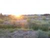 Langzaam komt de zon tevoorschijn