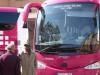 Met de bus van 12:30 uur rijden we naar Bilbao