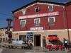Villafranca, de eerste en gelijk ook de laatste bar die we vandaag zullen tegenkomen