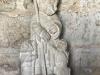 Het prachtige beeld van Jacobus in de Albergue met kapel San Nicolás