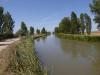Canal de Castilla, slechts een klein deel van het 207 km lange, nooit afgemaakte kanaal