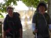 De Duitse Léon en 'Pedro' uit Zuid-Korea hebben elkaar ontmoet in St.Jean Pied de Port en zijn onafscheidelijk