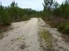 Zwaar terrein, door het rulle zand