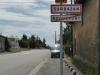 Langs de D932 lopen we Roquefort weer uit