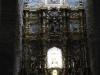 Het altaarstuk is oud, de kerk is als het ware daarom heen gebouwd, fantastisch