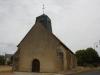 Het kerkje vanf Sarzay