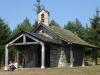 Het kapelletje bij La Cruz de Fierro is gesloten