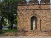 De oude stadsmuur van Chiang Mai