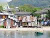 En hier wonen de vissers van Ban Phe