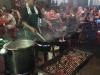Chinatown, het eten wordt op straat bereid