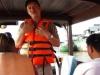 We zetten koers naar de drijvende markt op de Mekong River