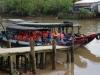 De boot brengt ons terug naar Cán Thó